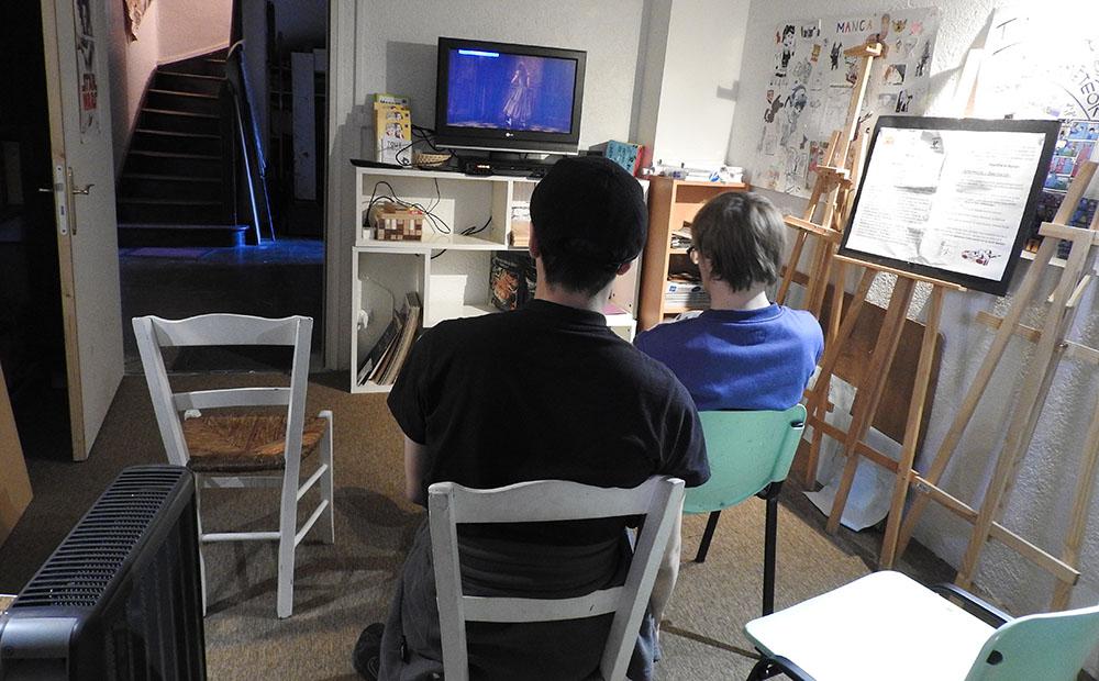 La salle d'animation Le Petit Tout