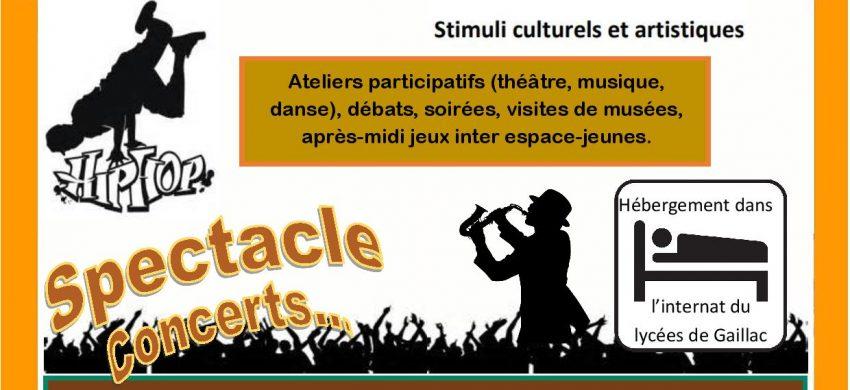 Séjour ados festival BazaR Gaillac